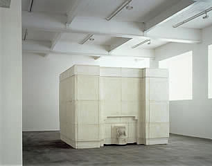 'Ghost by Rachel Whiteread.  The presence of a room without the room, a memory that fills a space such a room occupied.
