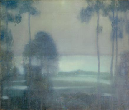 Edward Steichen, Across the Salt Marshes, Huntington, c. 1905, oil on canvas, Toledo Museum of Art, Toledo, Ohio, Gift of Florence Scott Libbey, reproduced with permission of Joanna T. Steichen